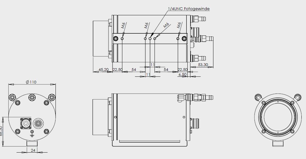 PV640Mp尺寸图